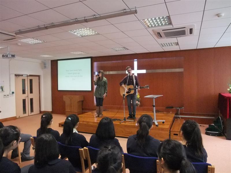 2013 初二、高一、二、三的英語會話堂及聖經堂