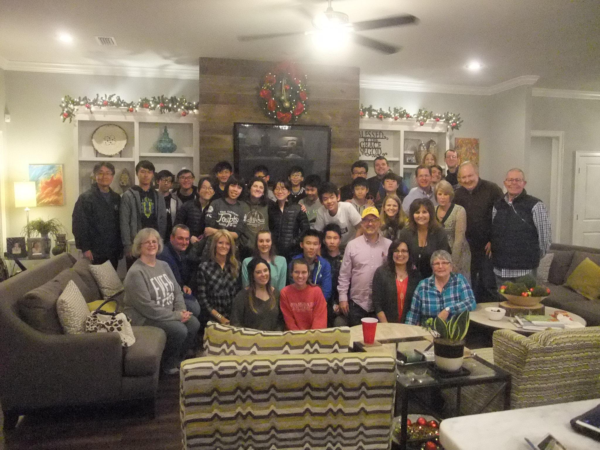 2016美國教會聖誕英語學習團報告